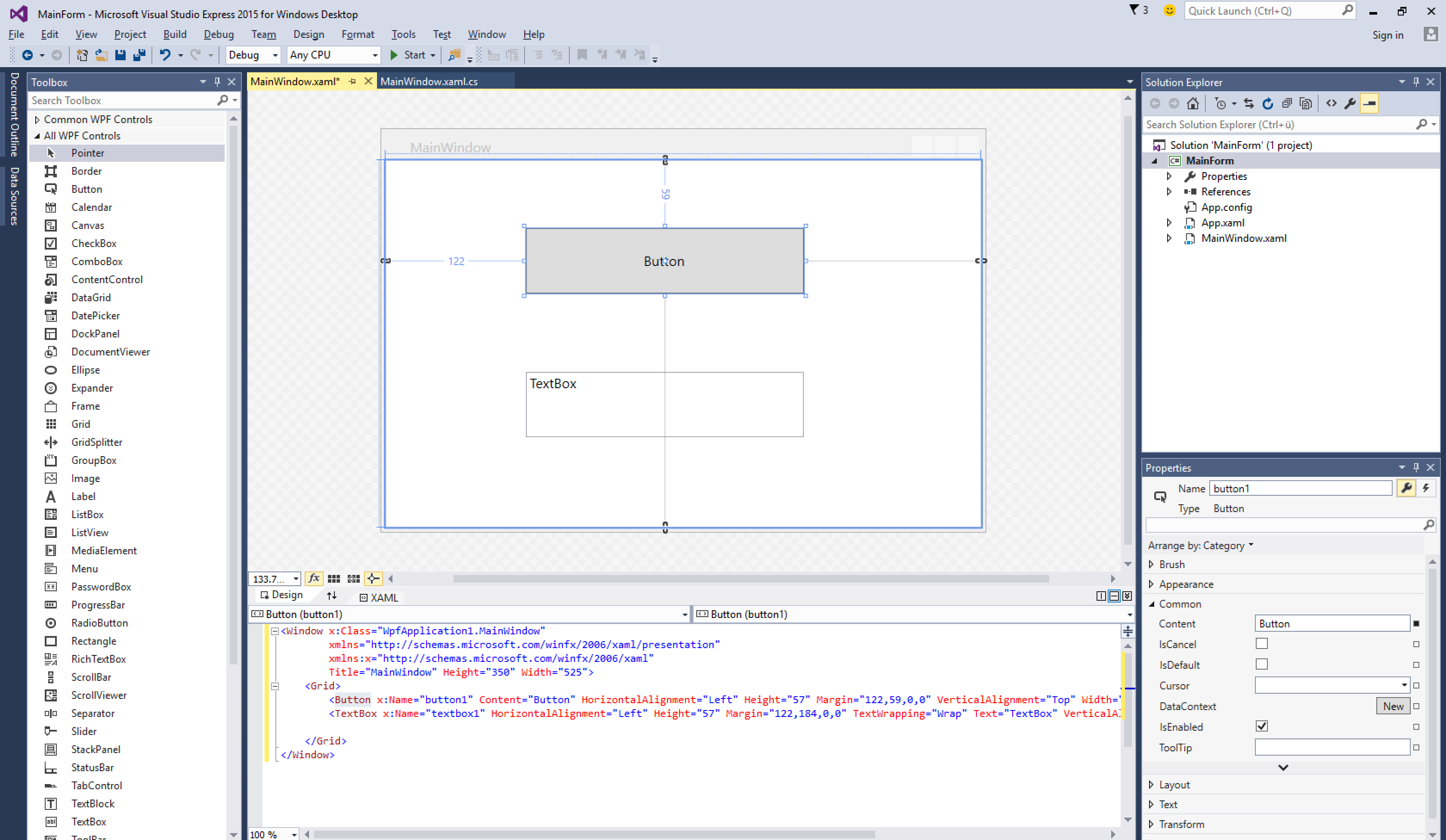 VisualStudio_WPF-Designer
